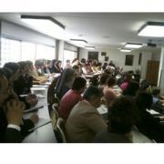Bermejo modera las dos mesas de diálogo de CONFER sobre «El proyecto de pastoral de la salud al servicio de la evangelización»