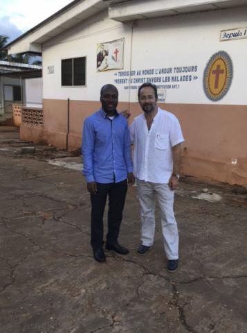 Una visita de Bermejo a Benín