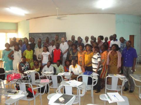 Inauguración curso pastoral de la salud Burkina Faso