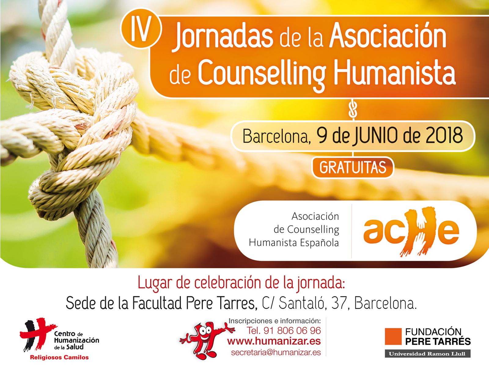 Será el tema que José Carlos Bermejo afrontará en las IV Jornadas de la Asociación de counselling humanista (ACHE)