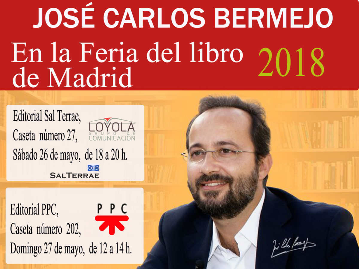 Estaré en la Feria del libro 26  y 27 de mayo