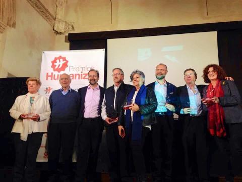 Bermejo entrega los premios HUMANIZAR