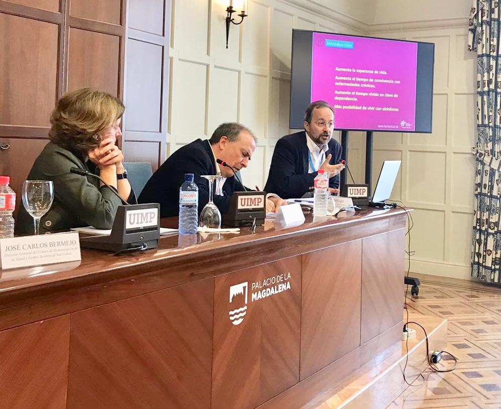 Bermejo en Santander: Universidad Internacional Menéndez Pelallo