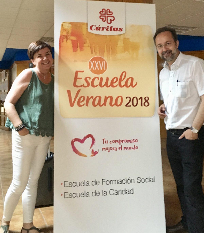 Bermejo en Cáritas Española