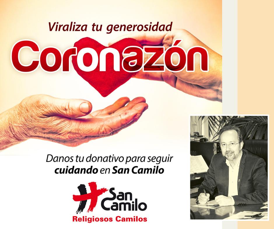 """El Centro San Camilo pone en marcha su campaña """"CORonAZÓN"""""""