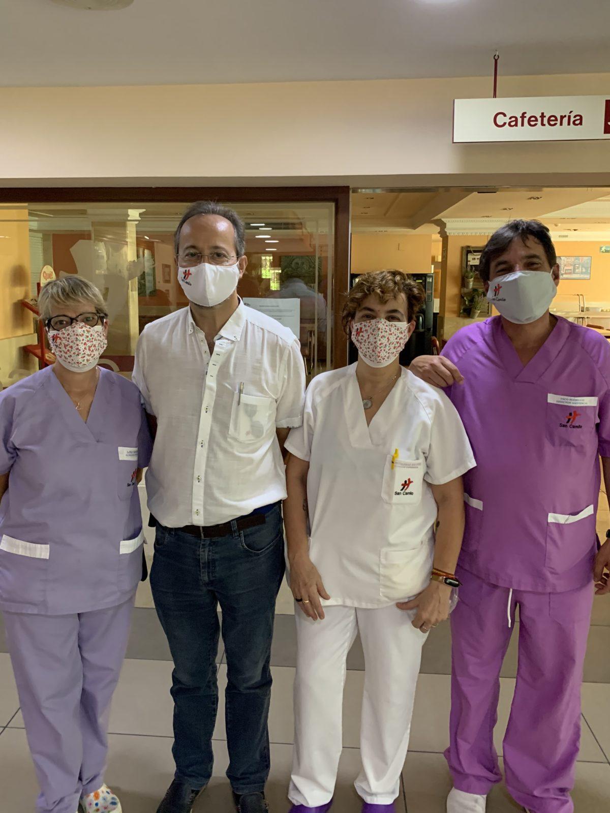 El miedo al contagio quita el sueño a los sanitarios españoles