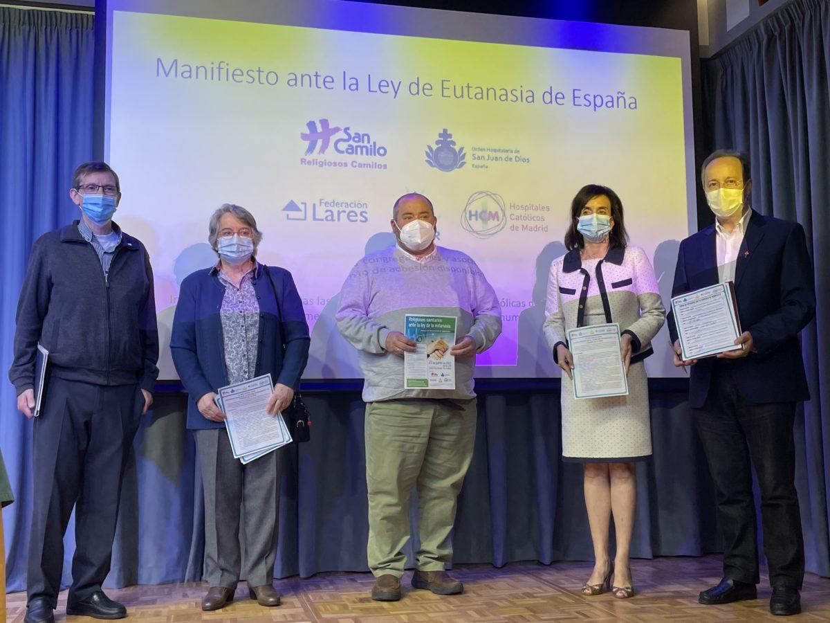 MANIFIESTO: Jornada de Religiosos sanitarios ante la ley de la eutanasia