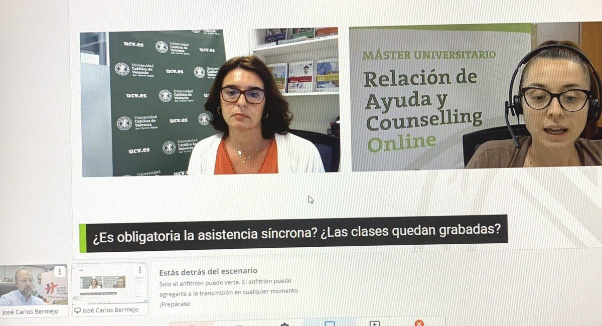 Próxima Jornada counselling abierta
