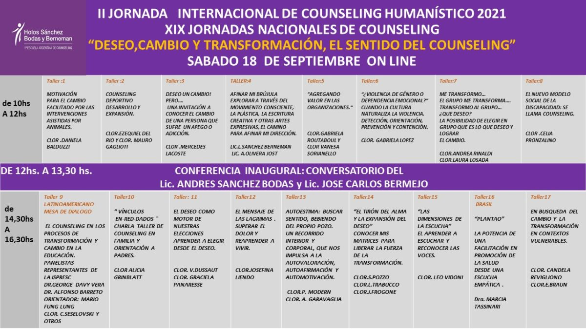 Counselling y cambio