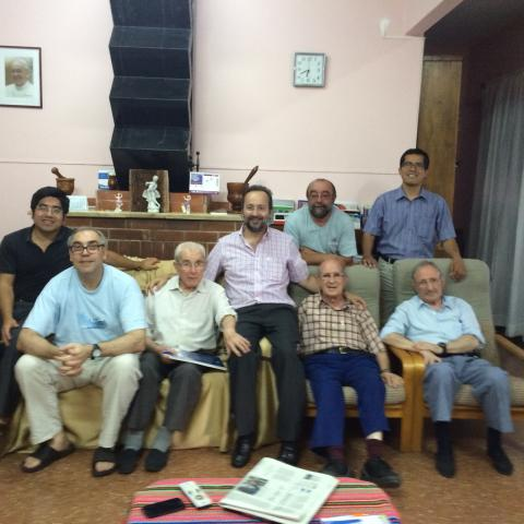 José Carlos Bermejo, Vicario Provincial, visita la Delegación de Argentina