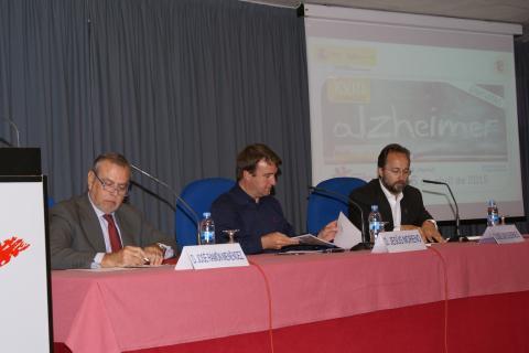 José Carlos Bermejo en la celebración de las XVIII  Jornadas de Alzéimer