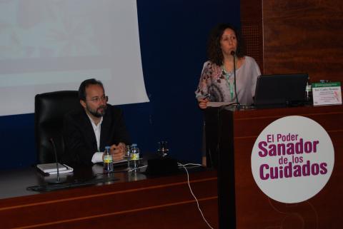 Bermejo con SATSE,  el sindicato de enfermería, en el congreso de Ciudad de Talavera 2014