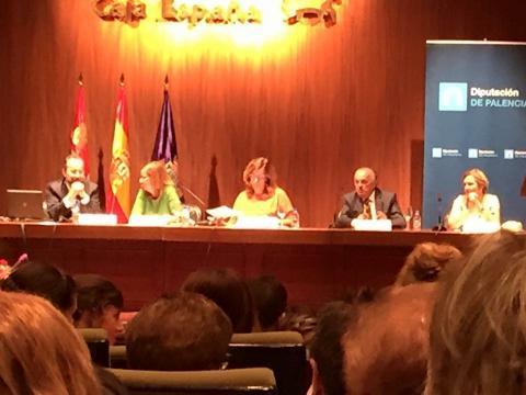 Ceremonia de graduación en enfermería en Palencia