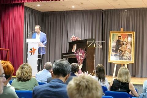Bermejo presenta a San Camilo como «mago de la caridad»