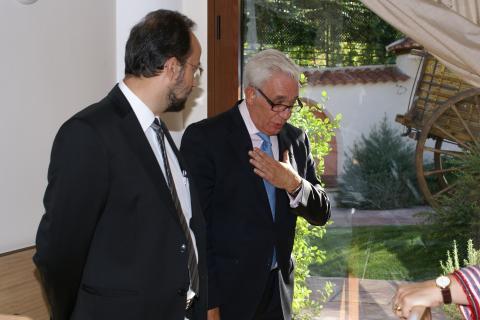 Jesús Sánchez Martos, Consejero de Sanidad de la Comunidad de Madrid en San Camilo