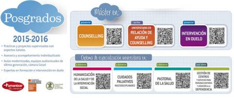 Septiembre 2015: programas de counselling