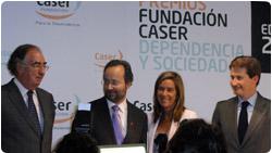 José Carlos Bermejo recibe el premio de la ministra de sanidad
