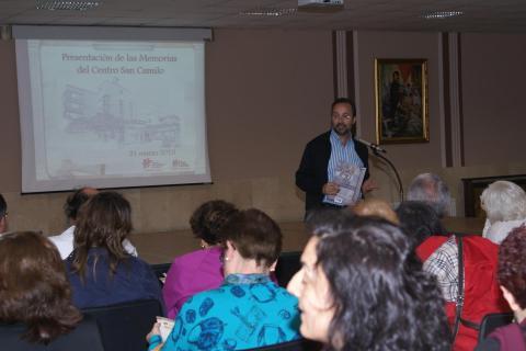 Bermejo presenta memoria Centro San Camilo
