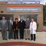 Visita de la rectora de la Universidad Católica de Ávila