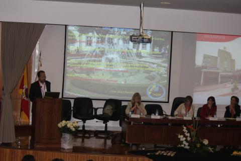 José Carlos Bermejo presenta la nueva Unidad de Cuidados Paliativos en Congreso Mundial