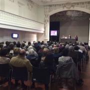 José Carlos Bermejo imparte una charla sobre duelo en Vitoria