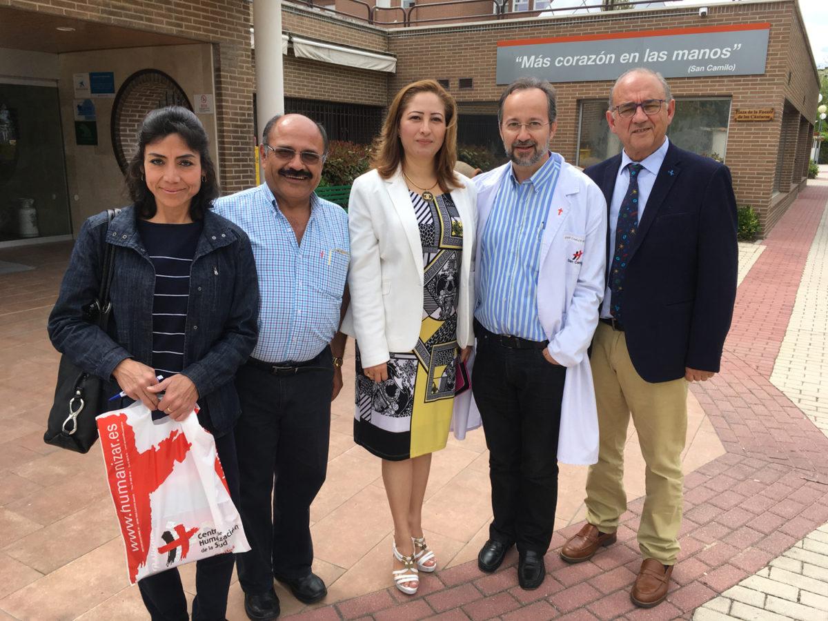 Visita del Dr. Rodríguez Sendín