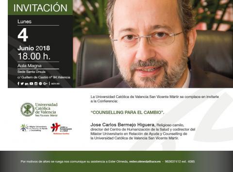 Máster Class en Valencia: counselling para el cambio
