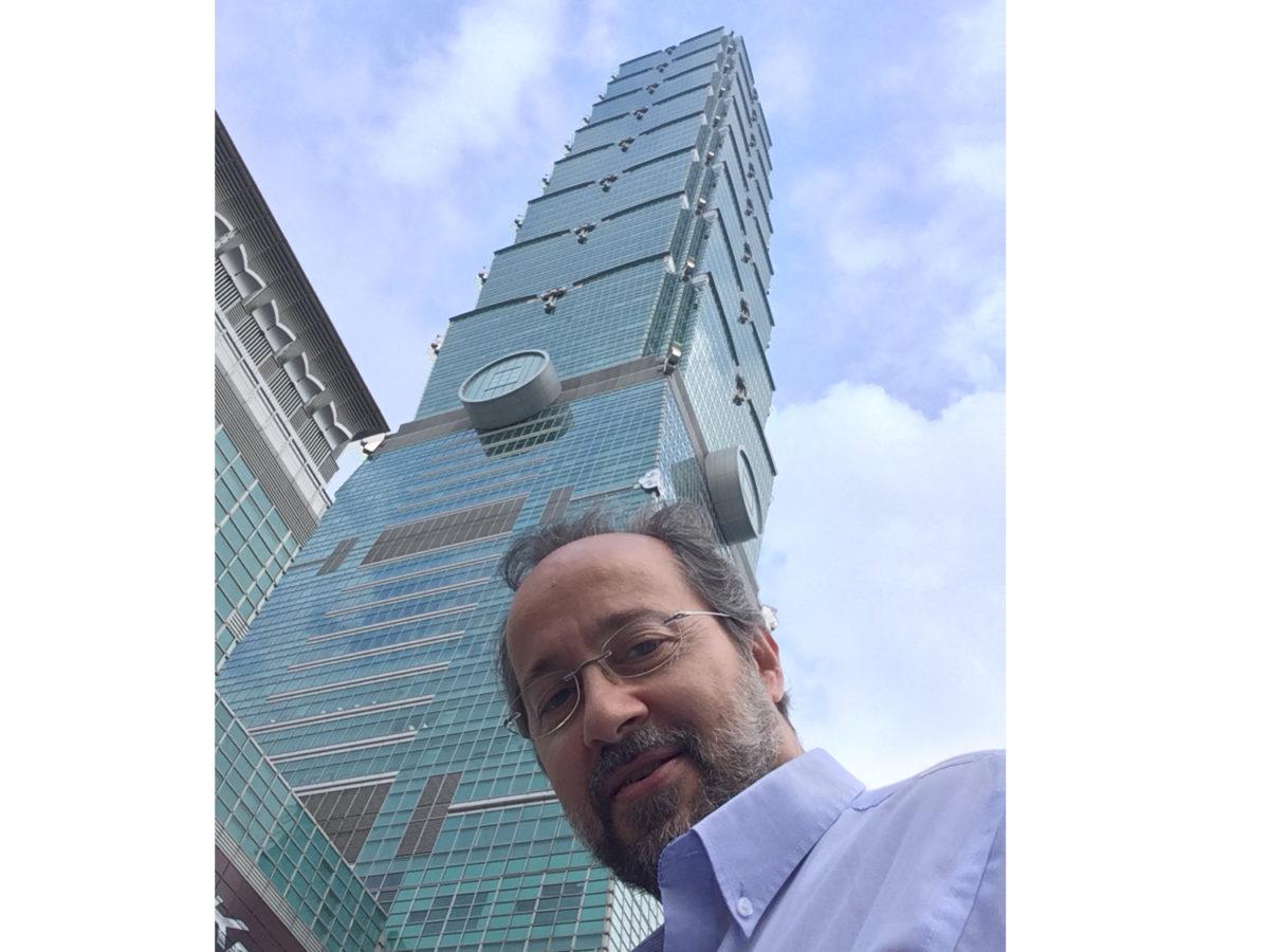 Bermejo en Taipei 101