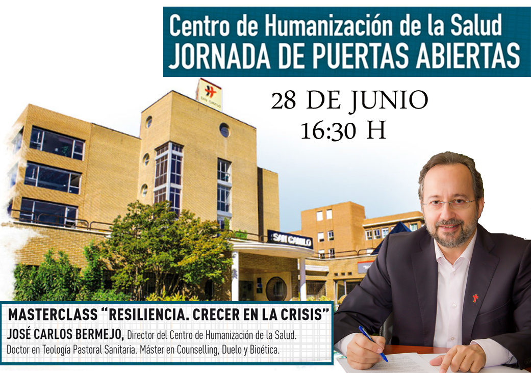 Bermejo en la Jornada de Puertas abiertas del centro de Humanización