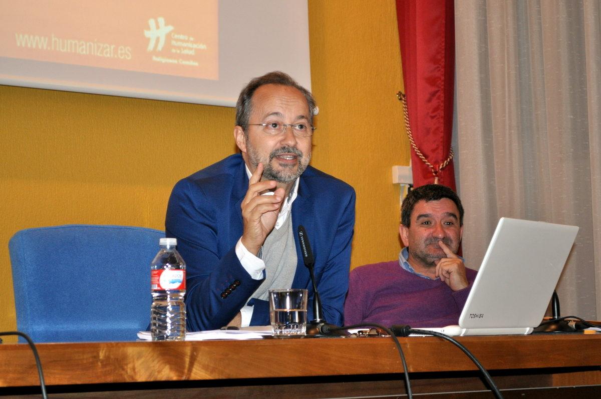 """En Burgos """"el arte de escuchar en el sufrimiento"""" con Bermejo"""