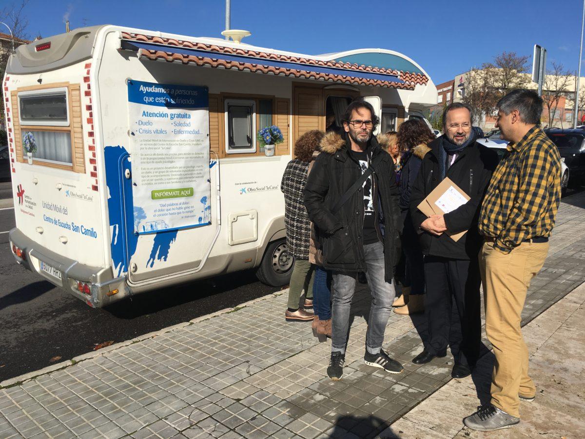 La Unidad Móvil del Centro de Escucha premiada en Toledo