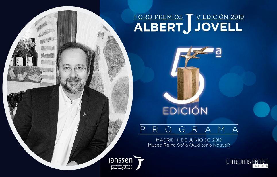 Bermejo en la V Edición de los Premios Albert Jovell