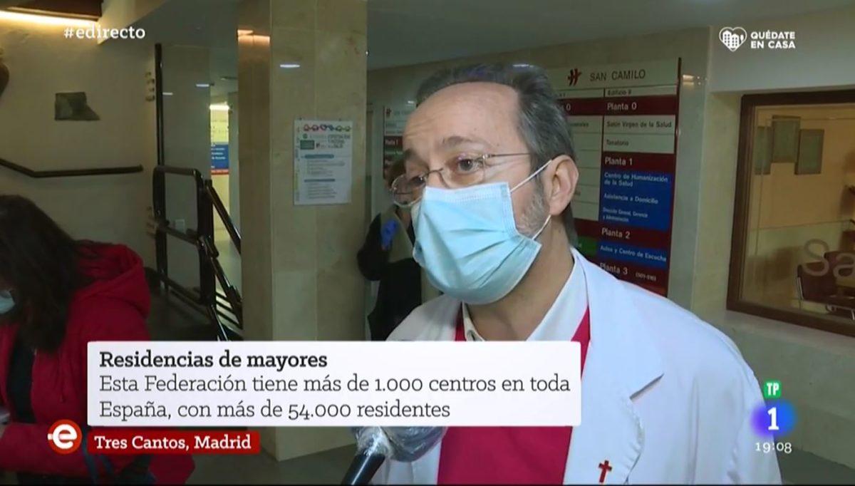 El Centro San Camilo en España Directo de RTVE