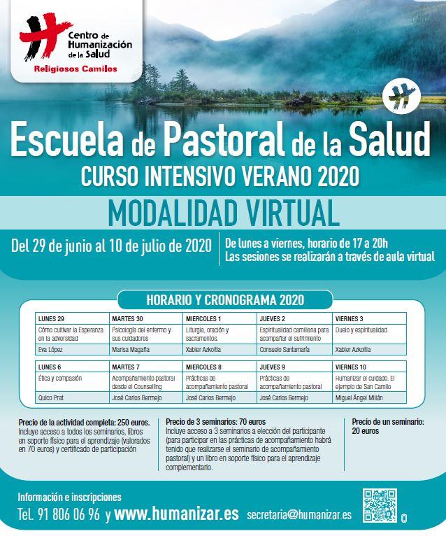 Pastoral de la salud en julio