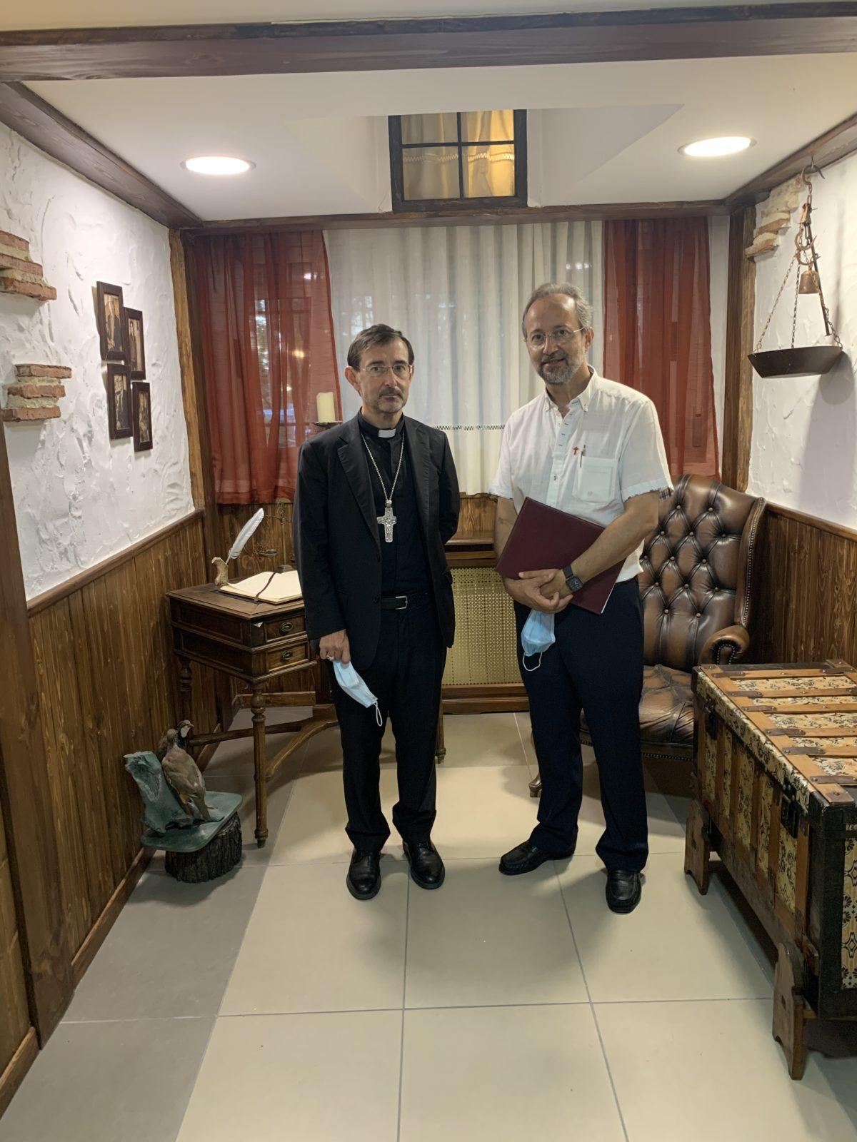 Monseñor José Cobo y Bermejo celebran San Camilo