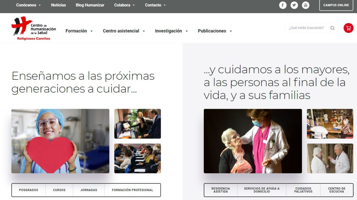 Nueva web humanizar