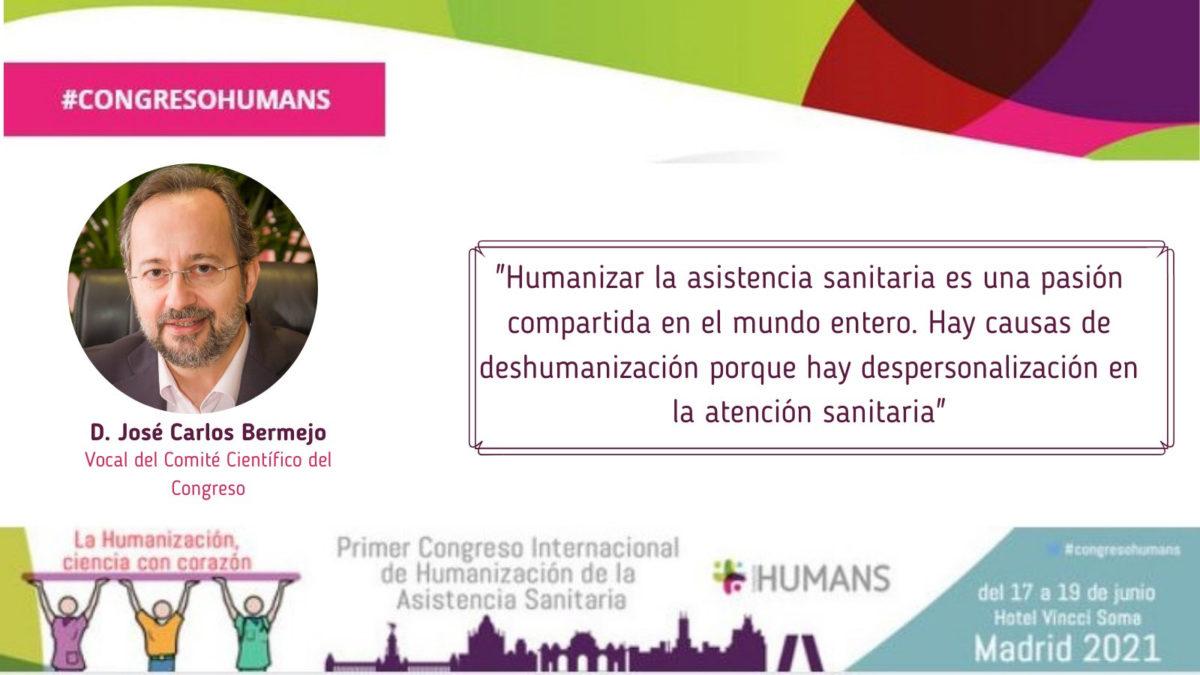 Bermejo en el Congreso Humans